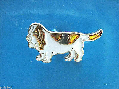 BASSET HOUND -   hat pin , lapel pin , tie tac , hatpin GIFT BOXED (s)