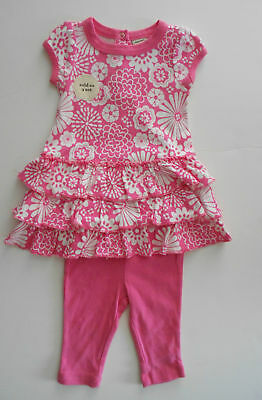 NWT Old Navy Girls 2-Piece Outfit Clothing Set 0-3 Mos