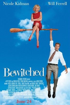 BEWITCHED MOVIE POSTER 2 Sided ORIGINAL FINAL 27x40