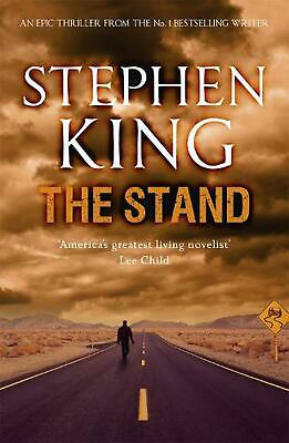 The Stand by Stephen King (English) Paperback Book Free Shipping!