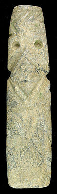 Pre-Columbian Avian-Shaman Form Axe God - Costa Rica