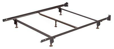 Hospitality Bed Frame with Headboard Brackets & Glides
