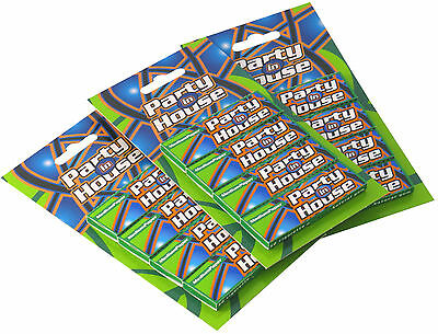 PARTY IN HOUSE Grün Kurz Multipack Rolling Papers, 100 Heftchen per Box