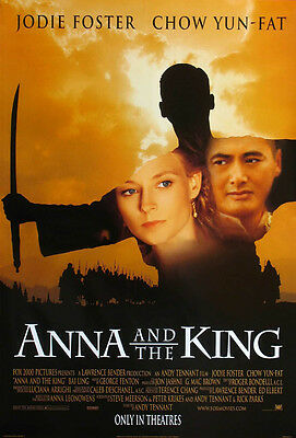 ANNA AND THE KING MOVIE POSTER 2 Sided ORIGINAL B 27X40
