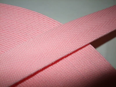 FIFTY Metres 25mm Polypropylene Webbing/Strapping for Bag Straps, Dog Collars