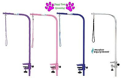 "Master Equipment Heavy Duty Grooming PET DOG Table ARM Clamp&Loop 36"" ADJUSTABLE"