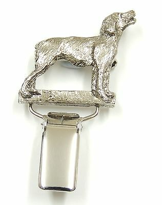 Brittany Spaniel Show Ring Clip/Number Holder