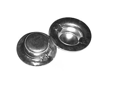 2 pal push cap nuts 1/2 inch roller shafts