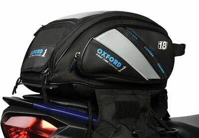 OXFORD 1ST TIME TANK n TAILER 18L BAG 2 IN 1 LUGGAGE BLACK 435