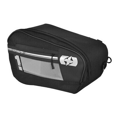 OXFORD Motorcycle Motorbike 48L Expandable Panniers Saddle Bags Luggage Black