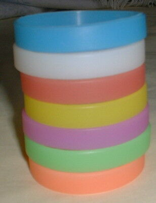 Glow In The Dark Silicone Wristband - Choose Colour