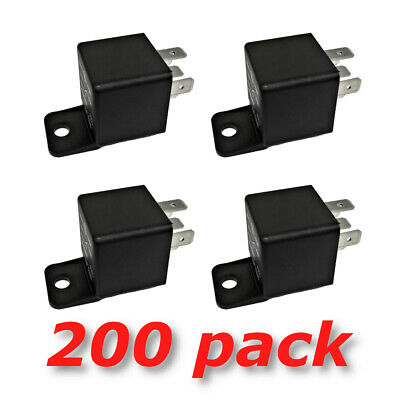 12V 30 40A SPDT Bosch Style Automotive Relays (200/Pack) 12 Volt