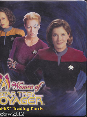 Star Trek Women Of Voyager Holofex Factory Binder W/Exclusives P3 A2 Autograph
