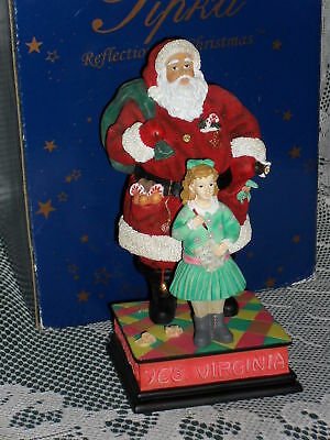 Pipka YES, VIRGINIA THERE IS A SANTA CLAUS figurine