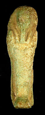 Extra Nice Ancient Egyptian Faience Ushabti