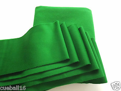7ft GREEN STRACHEN POOL TABLES CLOTH 7x4 TOP QUALITY SLATE & CUSHIONS STRIP