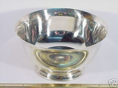 Five Inch Lunt Paul Revere Reproduction Sterling Bowl