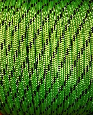 High vis rope polyester braid 8mm 10mm 12mm 14mm