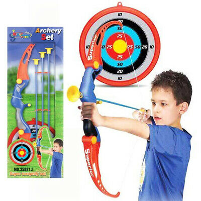 Kids Children Archery Bow Game Toys Target Set With Infrared