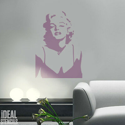 Marilyn Monroe Stencil Reusable Home Decor Art Craft T shirt Paint Ideal Stencil