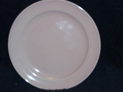 "T.S.& T. LuRay Pastel  9 1/4"" Dinner Plate Pink"