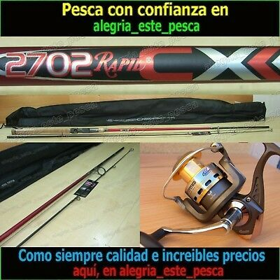 EQUIPO PESCA SPINNING - RAPID CX 2.70mt + FOXER FD50