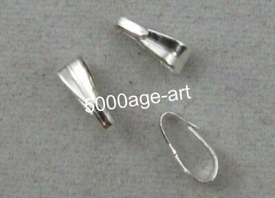 200pcs silver plated Elliptical Open Jump Rings 7 * 3mm