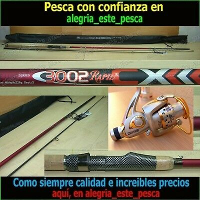 EQUIPO PESCA SPINNING - RAPID CX 3.00mt + PHOENIX 50