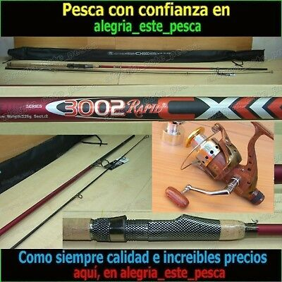 EQUIPO PESCA SPINNING - RAPID CX 3.00mt + ROYAL 400R