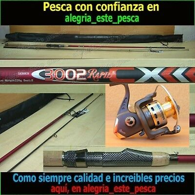 EQUIPO PESCA SPINNING - RAPID CX 3.00mt + FOXER FD50