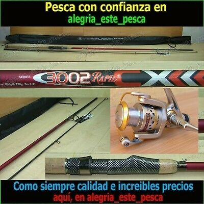 EQUIPO PESCA SPINNING - RAPID CX 3.00mt + PHOENIX 25