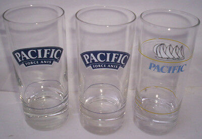 Lot Verres Pacific - Force Anis