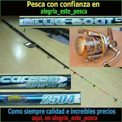 EQUIPO PESCA SPINNING - BLUE BOAT 2.50mt + PHOENIX 50