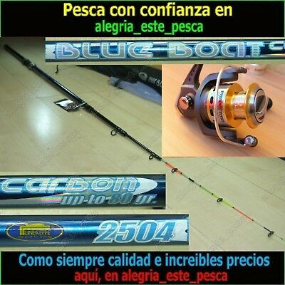 EQUIPO PESCA SPINNING - BLUE BOAT 2.50mt + FOXER 50FD
