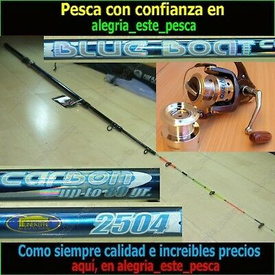 EQUIPO PESCA SPINNING - BLUE BOAT 2.50mt + QUEEN 600F