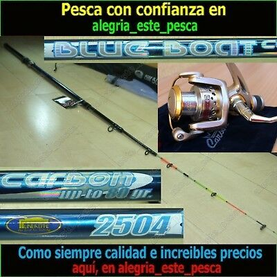 EQUIPO PESCA SPINNING - BLUE BOAT 2.50mt + PHOENIX 25