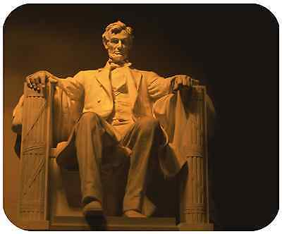 Mouse Pad Custom Thick Mousepad - Lincoln Memorial - Add Any Text Free