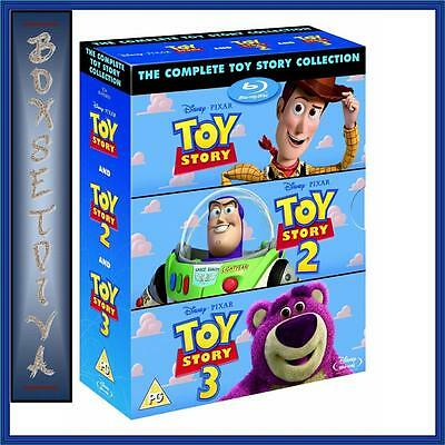 Toy Story - The Complete Collection 1 2 & 3 *Brand New Blu-Ray Boxset*