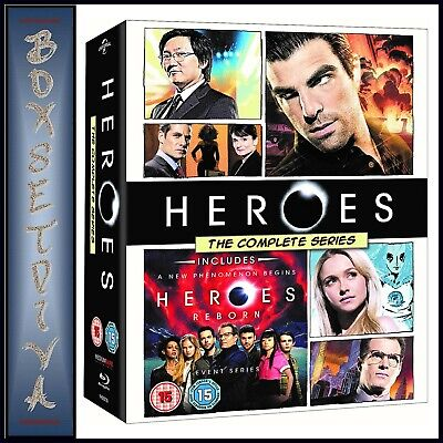 HEROES - Complete Collection Series 1 2 3 & 4 **BRAND NEW BLU-RAY BOXSET**