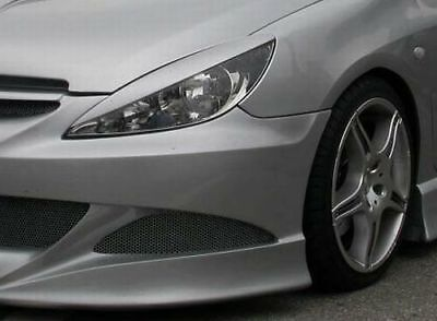 Peugeot 307 Casquettes De Phares (Abs) - Tuning-Gt