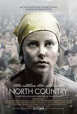 NORTH COUNTRY MOVIE POSTER 2 Sided ORIGINAL FINAL 27x40
