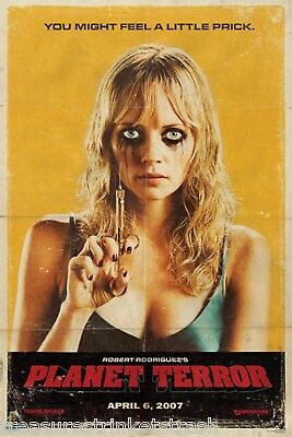 Grindhouse Planet Terror Prick Movie Poster