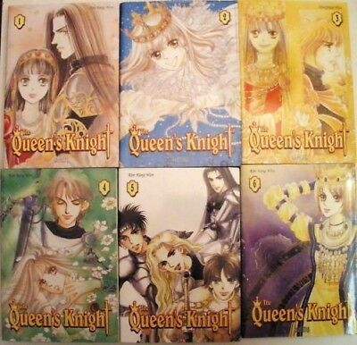 Lot De 6 Mangas The Queen's Knight -Tome 1 A 6 - Saphira