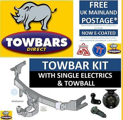 Flange Towbar for  Renault Modus 2004 to 2012  Kit IncTowball & Electrics TR815