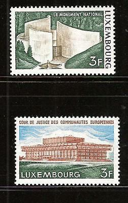 LUXEMBOURG # 517-8 MNH COURT OF JUSTICE