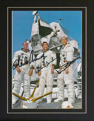 Apollo 12 Astronaut NASA Space Autographed Signed Photo