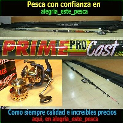 PESCA EQUIPO SURF CASTING PRIME CAST 4.00mts + AIR JIG 80
