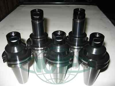 CAT40-ER16 COLLET CHUCK-short&long-total 5 CHUCKS-new  Tool Holder Set