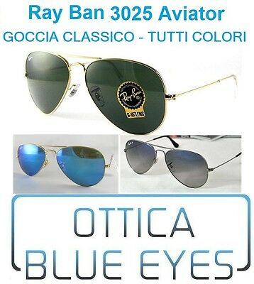 Occhiali da Sole RAYBAN AVIATOR LARG METAL RB 3025 Ray Ban ALL COLORS Free Ship