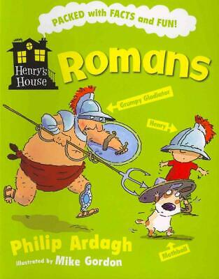 Romans by Philip Ardagh (English) Paperback Book Free Shipping!